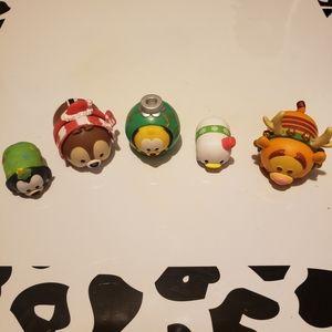 BOGO Disney Tsum Tsum Christmas set 5 piece
